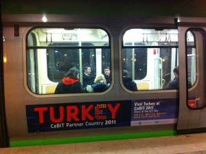 Partner Country Turkey onTrain